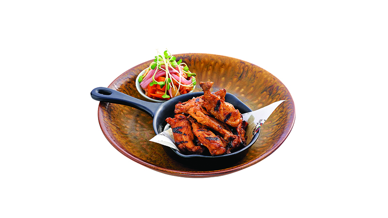 "Honey soya chicken ribs "" 9 pcs """